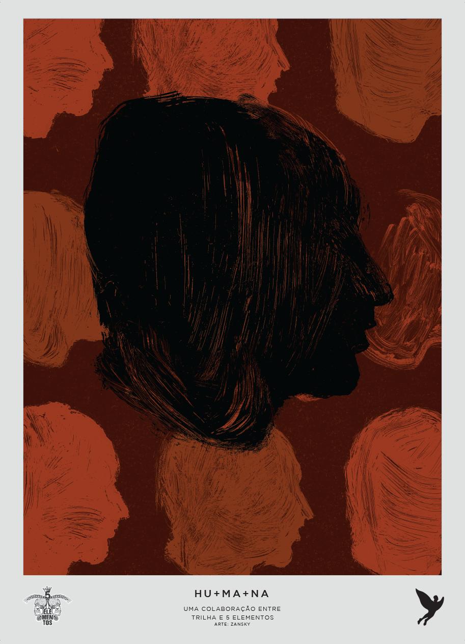 HU+MA+NA - STOUT | Arte por Zansky