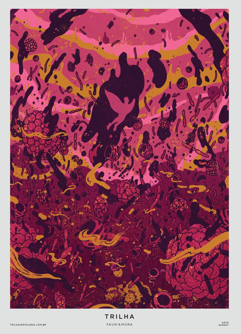 FAUN'AMORA - SOUR ALE | Arte por Zansky