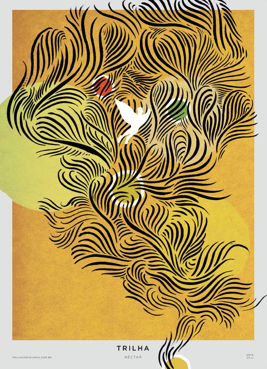 NÉCTAR - IPA | Arte por 45JJ