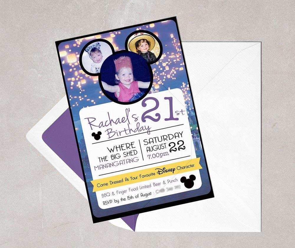 Rachael carroll designs invitation stopboris Gallery