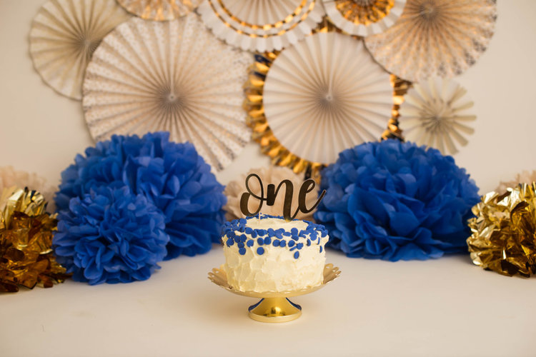 Happy First Birthday To You Chicago Smash Cake Photography