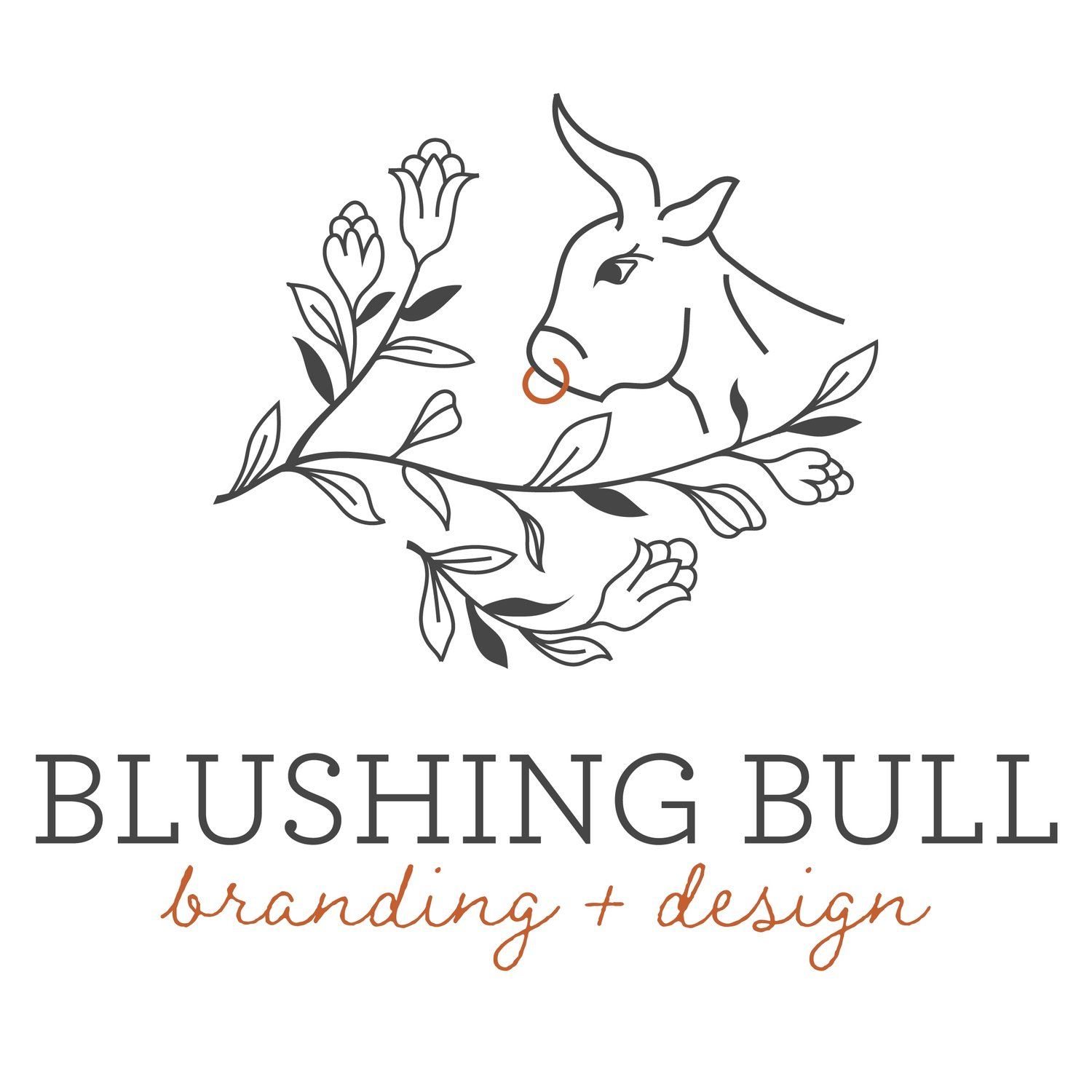 Blushing Bull - Logo, Branding and Graphic Design in Olympia, Washington & Beyond