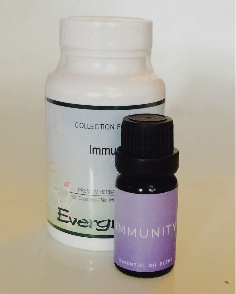 For the Constantly Sniffling - Immune Plus Herbal formula and Immunity Essential Oil Blend. Give the gift of a healthy immune system! The herbal blend strengthens Wei Qi, which is like a hidden force field keeping out illness. Immunity is a natural antibacterial and antiviral and can be used in baths and diffusers. Together they will keep you well all winter! $50
