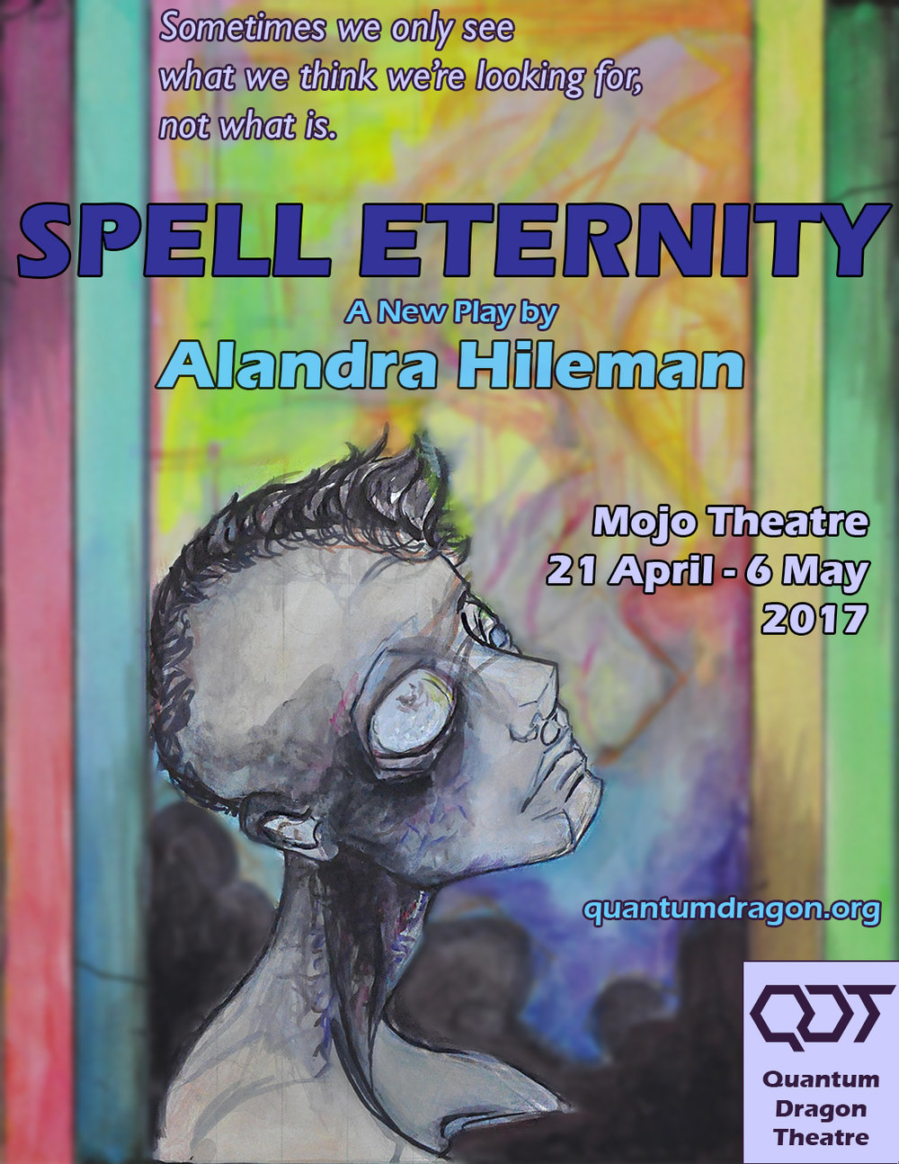 Spell Eternity - By Alandra HilemanDirected by Sam TillisDECEMBER 1st—9th, 2017The Mojo Theatre2940 16th St, SF