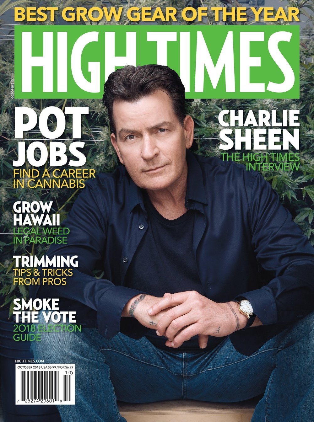 High Times Magazine October 2018