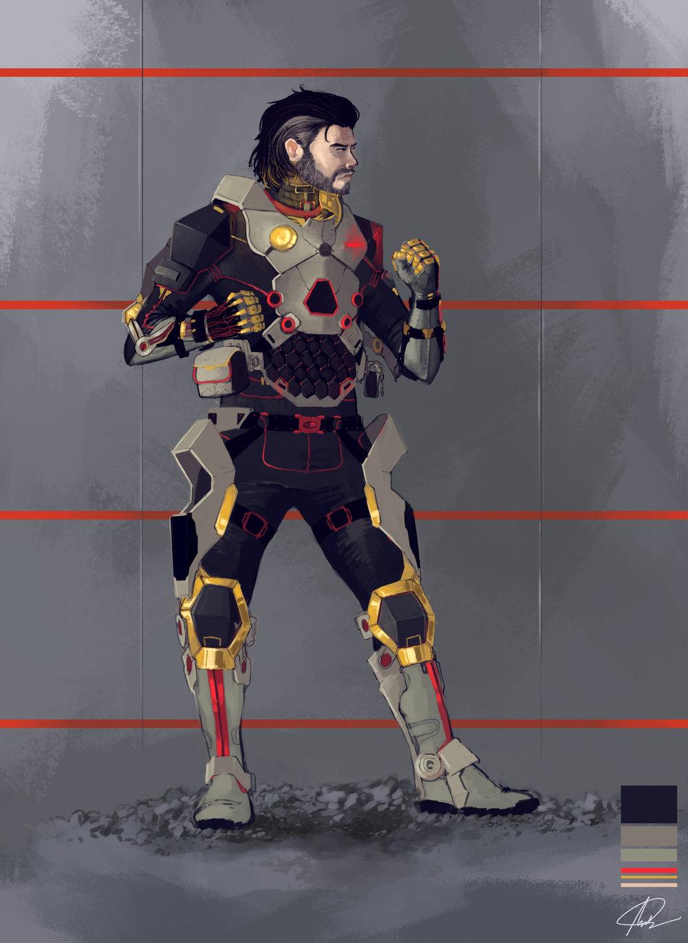 Off-world Combat Suit