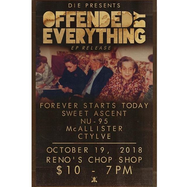 DALLAS! We will see you in a month to celebrate our best buds @offendedband releasing a new EP! Be there or please never talk to us again.
