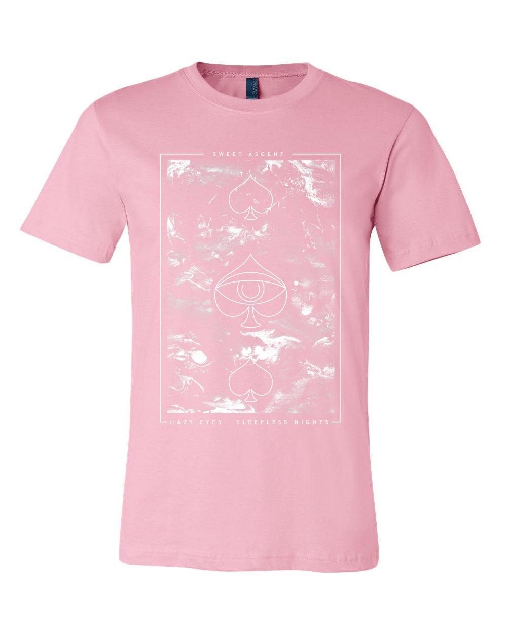 Pink Marble Spade Tee $20
