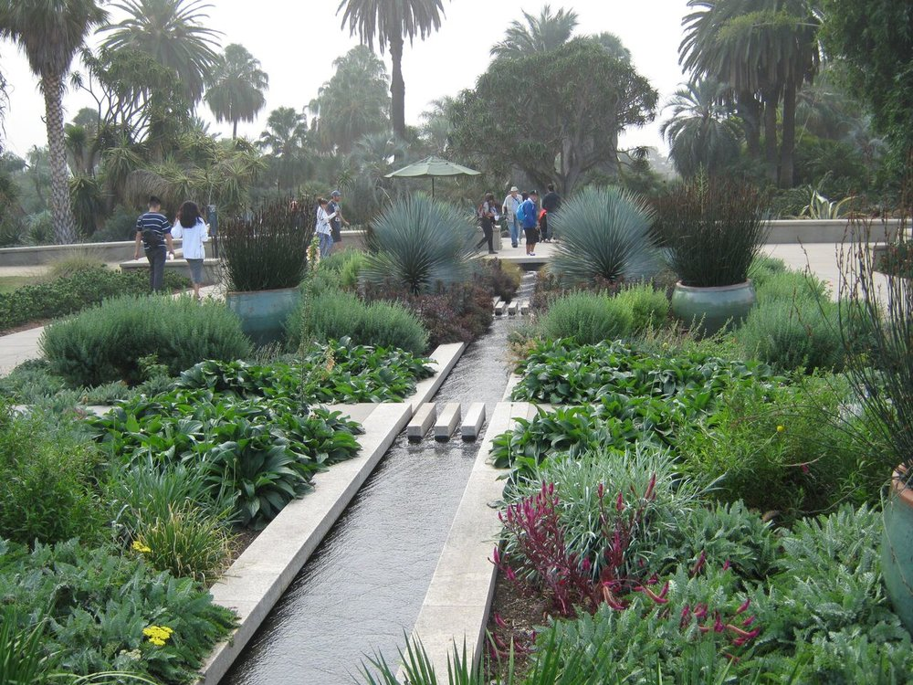 International MGS Visit The Huntington Cal