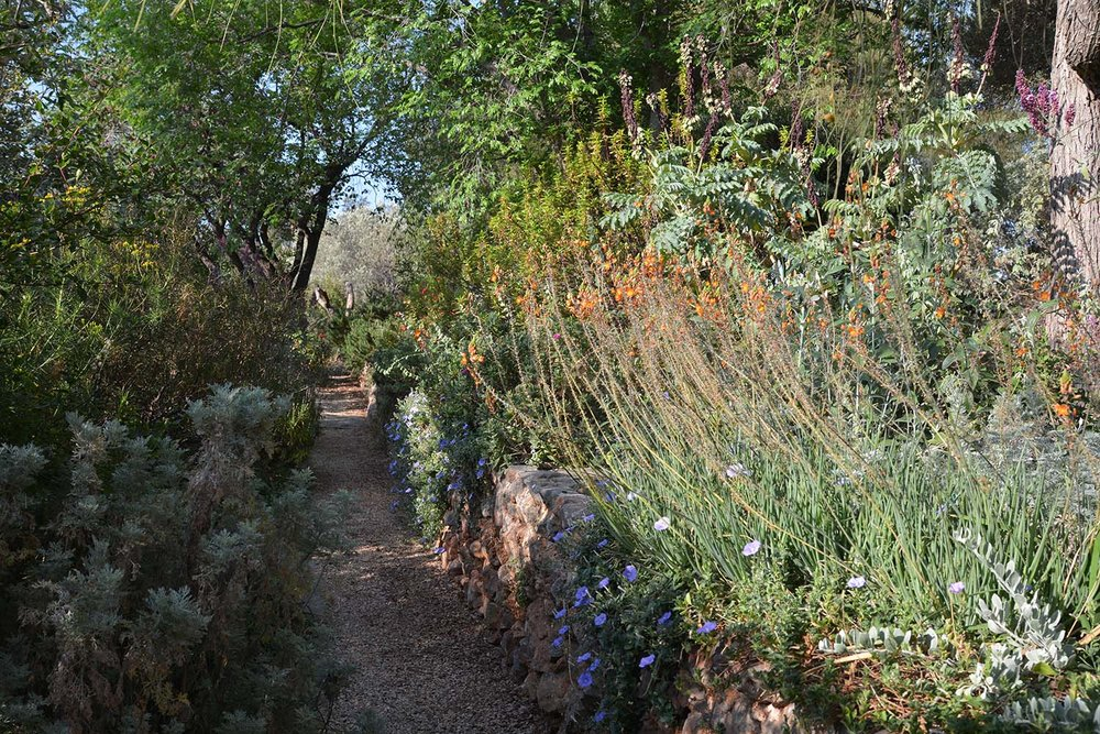 Gravel Path At Garden Of Sparoza