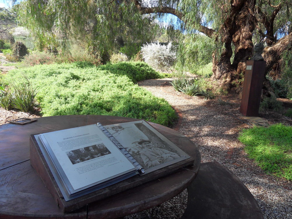 Garden Of Discovery History Of The Waite