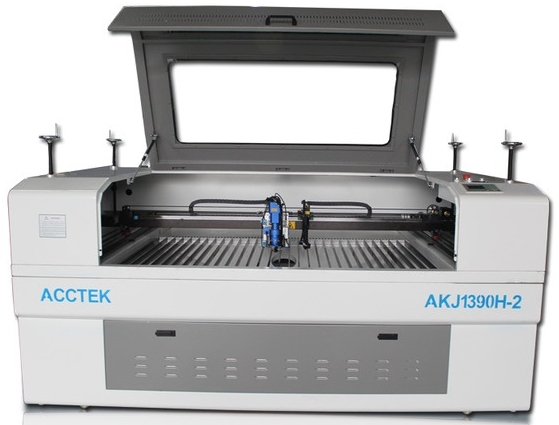 ACCTEK Laser Cutter AKJ1390 - Maximum working area: 1300 x 900mmUsable material: Acrylic, MDF, Wood, Leather, and Fabric100 watt LaserCW5000 Chiller