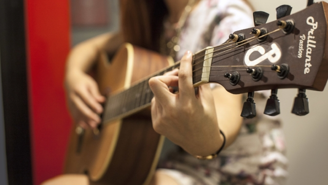 Classical Guitar Lessons   If you want to play classical and Latin music, Classical Guitar Lessons are an excellent choice. Classical guitar can also be used to play folk and pop music.  The nylon strings of a classical guitar are gentler on the fingers than the steel strings of an acoustic guitar. This makes it easier to play for some new players, especially children.