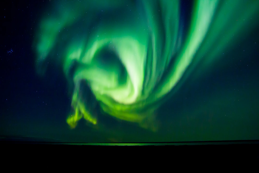 Aurora Borealis outside Kaktovik