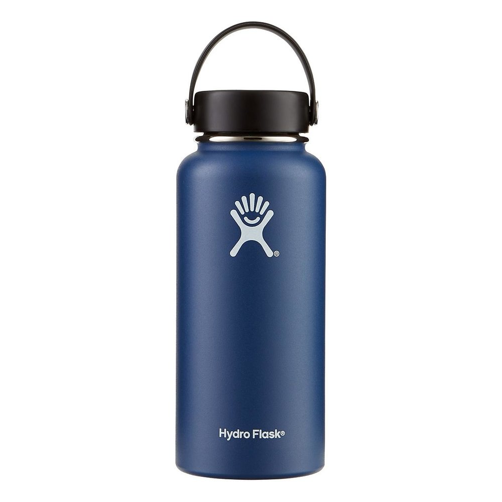 Double insulated - keeps hot drinks hot and cold drinks cold. It's my favorite water bottle.