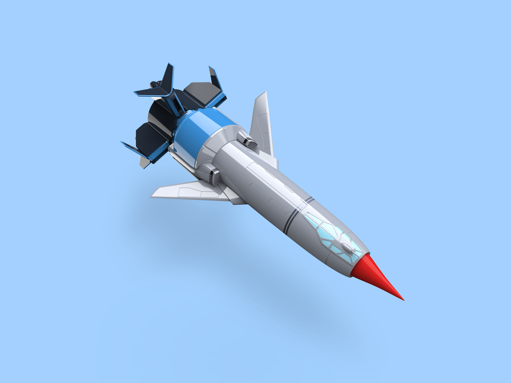 Thunderbird 1 render
