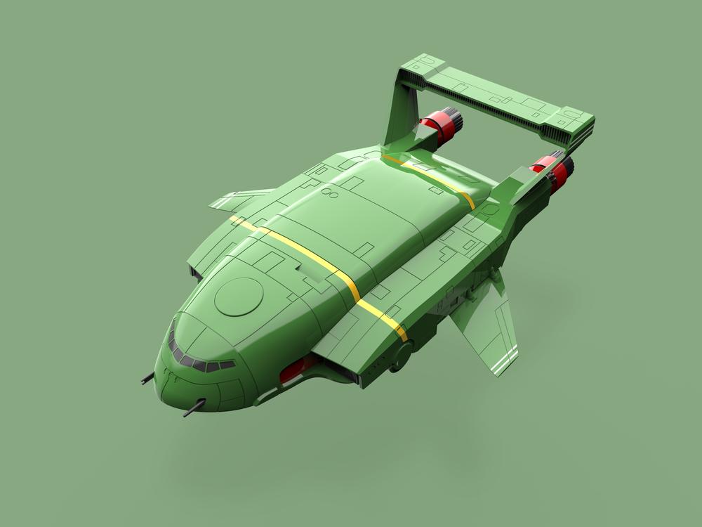 Thunderbird 2 render