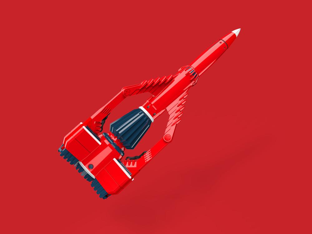 Thunderbird 3 render