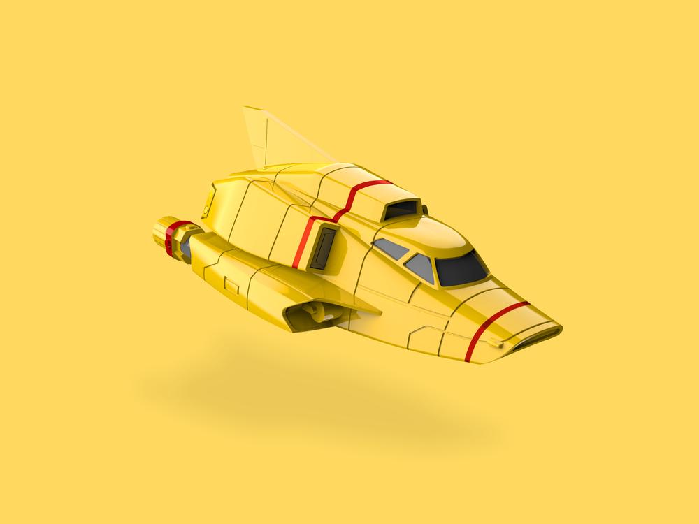Thunderbird 4 render