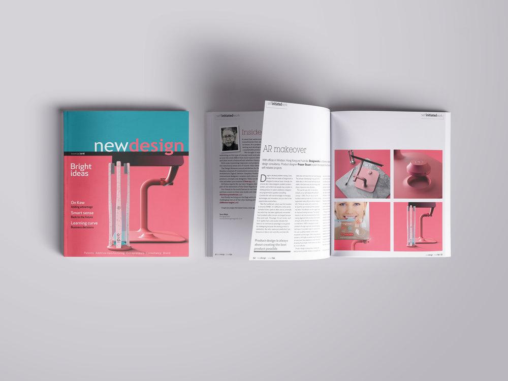 New Design Design Works magazine feature