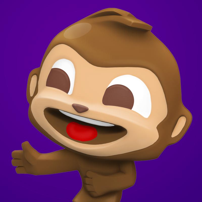 Raz Monkey Toy Freddo Treasures.jpg
