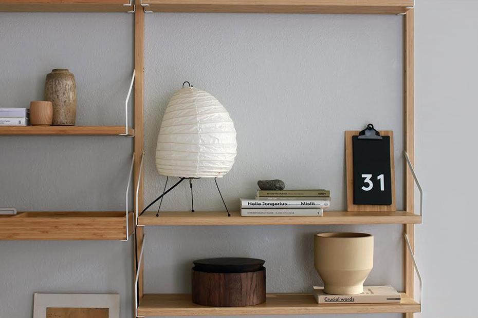 Minimalist any-year calendar, by Julia Kostreva at Target