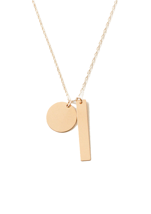 Shapes necklace, Julia Kostreva