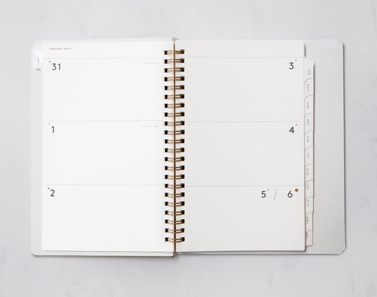 The Original Blank Planner by Julia Kostreva