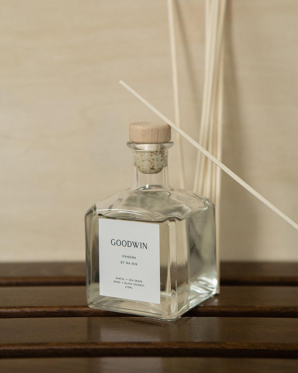 Goodwin branding by Julia Kostreva Studio
