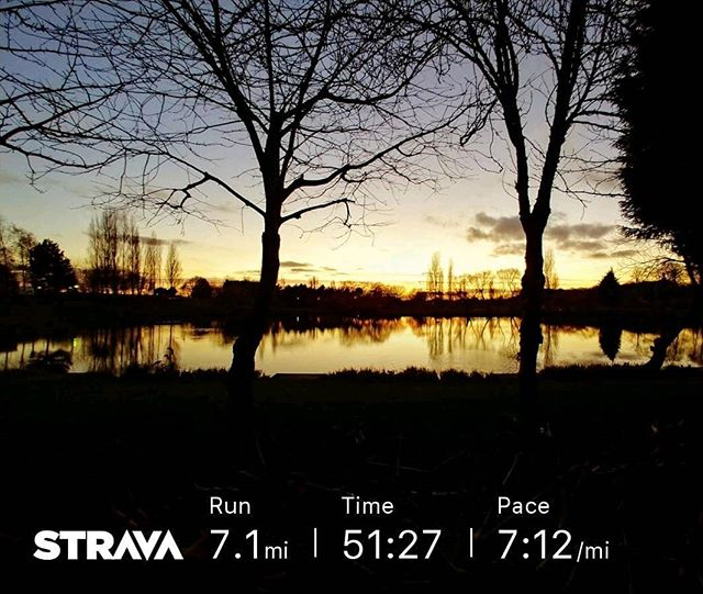 RED January day 01 run done! . . . #red #redjanuary2019 #redjanuary #run #runnersofinstagram #running #trailrunning #training #outside #newyear