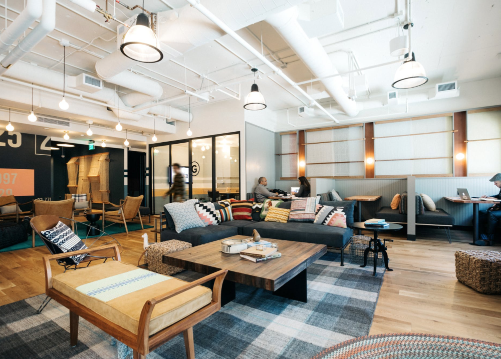 WeWork, California Our new office