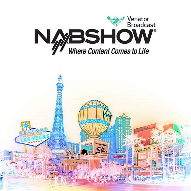 NAB 2019 is right around the corner and of course, we'll be attending!  NAB is always one of the highlights of our year here at Venator Broadcast and this year is set to be the best yet! It marks our first NAB since setting up our US office and the entire team, as well as our UK OG's will be attending!  We're looking to meet with as many of you as possible, so get in touch today to book a meeting with any of the team!