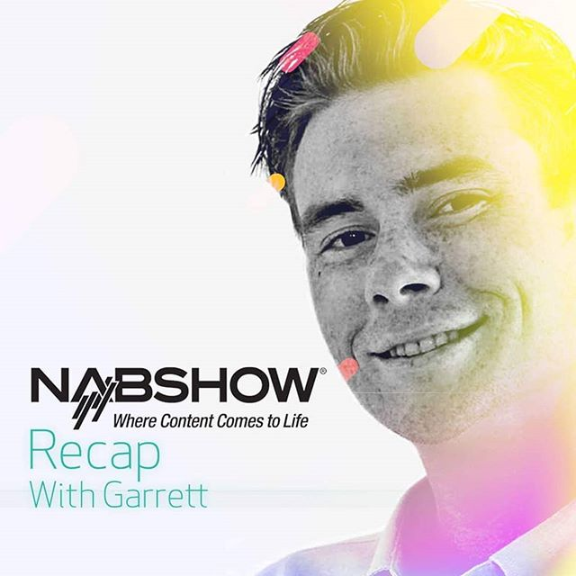 """This year's NAB marked Garrett Keefer's first time in attendance. We caught up with Garrett at our Los Angeles office to see how he found the experience... Garrett """"I had an incredible time! I learned so much and met so many people. It was truly a great opportunity to gain some insight into the industry and be with the rest of the team. Can't wait to be back!"""""""