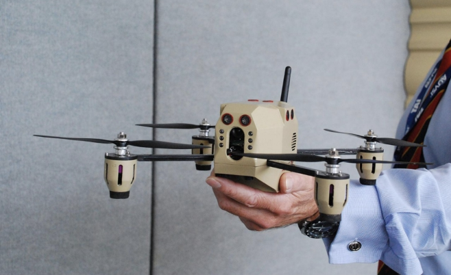 """""""The future of the drone: From war machine to crop duster,"""
