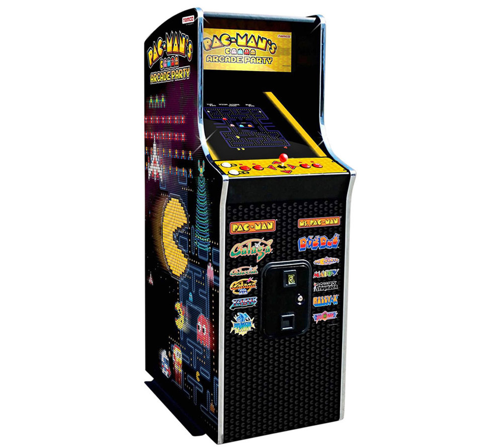Pacman Arcade Game - More info here.Get in touch.