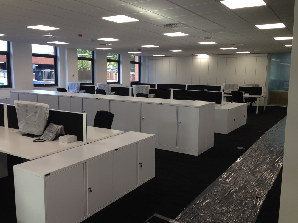 Client Name:  The Durkan Group  Project Type:  Bench Desking, Storage Solutions, Executive & Meeting Rooms, Breakout Furniture  Project Size:  140 seats, 2,000m2