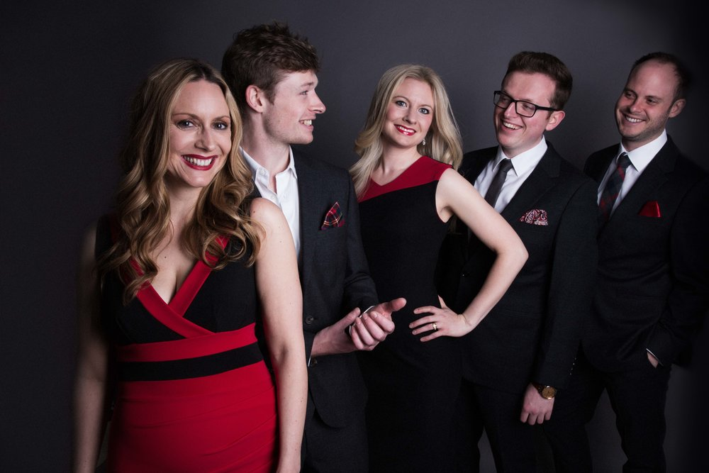 Apollo5… - …is an international award-winning British vocal quintet.