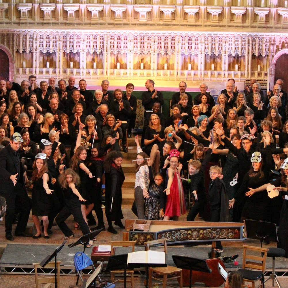 THE CREATION - Sat 3 August 4:00PMGala Festival performance of Haydn's oratorio The Creation sung by VOCES8, the VOCES8 Scholars and the Milton Abbey International Music Festival Chorus, accompanied by the Academy of Ancient Music with Mary Bevan, under the direction of Barnaby Smith. The concert opens with a short performance by the VOCES8 Summer School's junior participants.