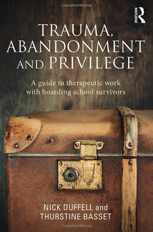 Front cover of Trauma, Abandonment and Privilege.JPG