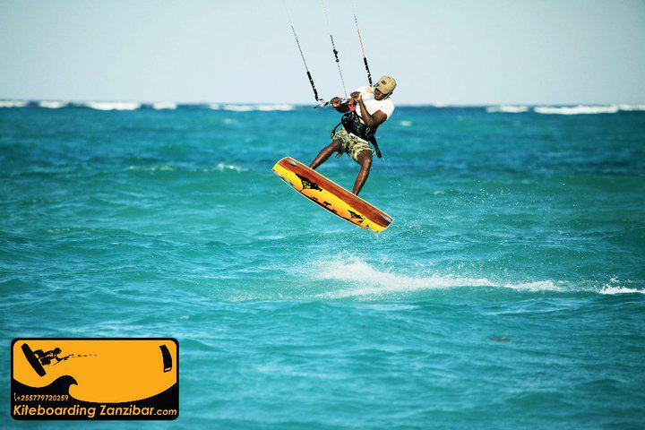 Learn to kite our lagoon with KiteBoarding Zanzibar.