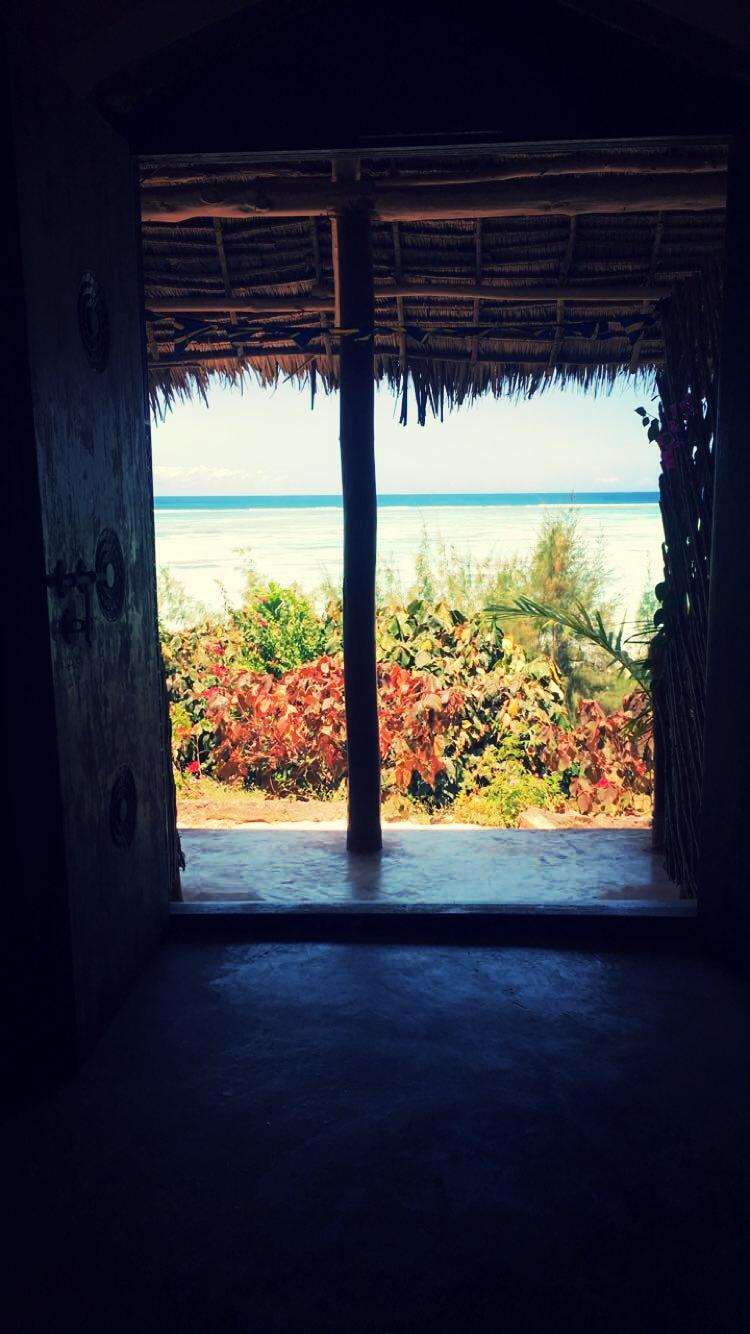 The door to Sazani