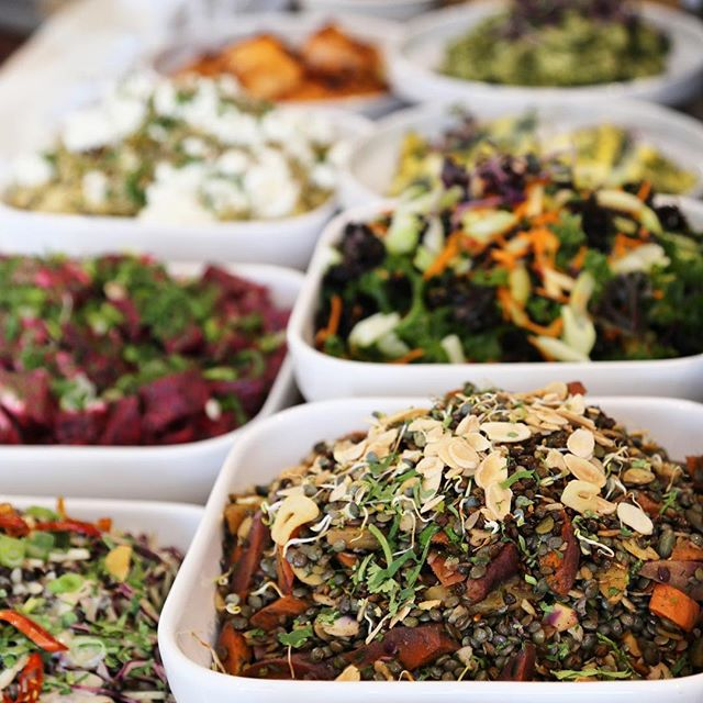 Friends! Exciting news... we're having a seasonal menu change next week, so be sure to swing by this week for some of your current favourites from the salad bar 🥗🤗. * Eating seasonally is a great way of ensuring a broard range of plant-based foods throughout the year. Variety in the diet is key for healthy, happy microbes! * #slowfoodfast #gowithyourgut #springmenu #seasonalfood #eatingwiththeseasons