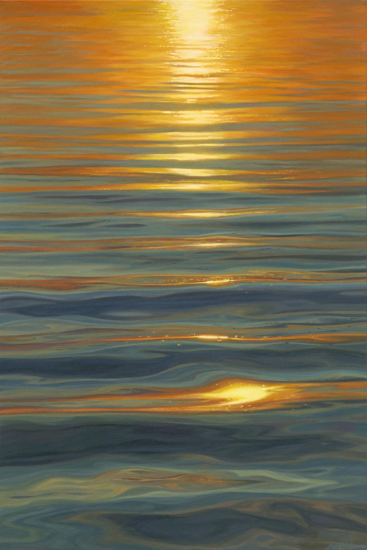 Believe SOLD 80cm x 120cm sunset