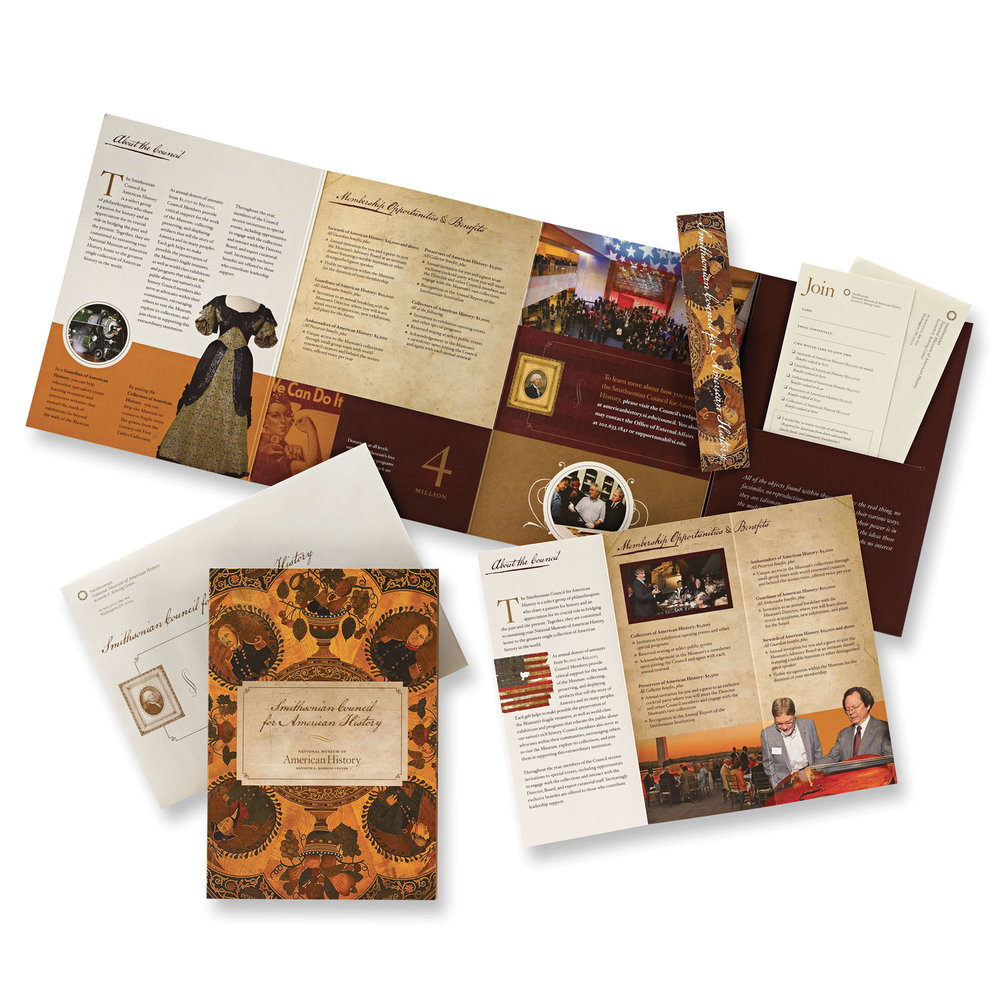 Smithsonian Council for American History  – Donor Solicitation Package