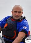 Francesco Gambella - Recordman long distance in Kayak