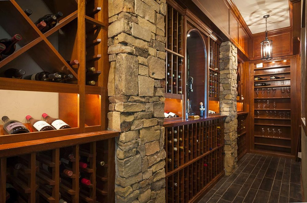 Wine Rooms          & Bars -