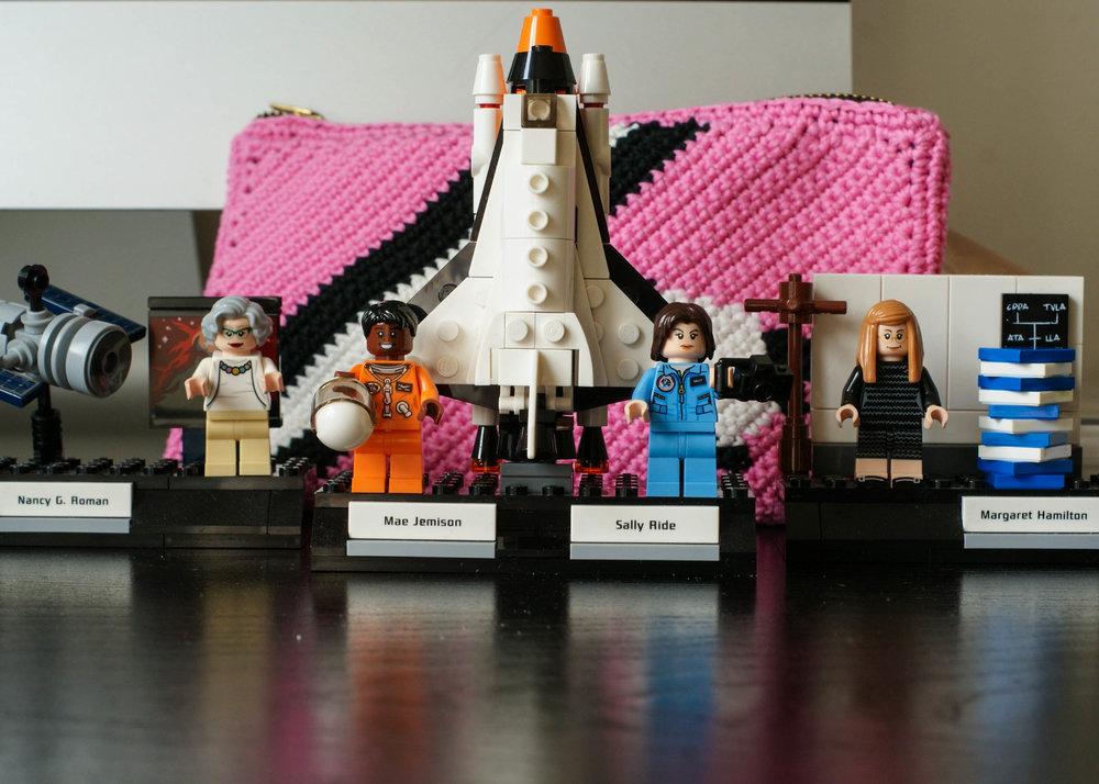 Women Of Nasa Lego Set.