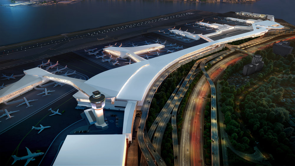 All part of a whole new, unified LaGuardia Airport