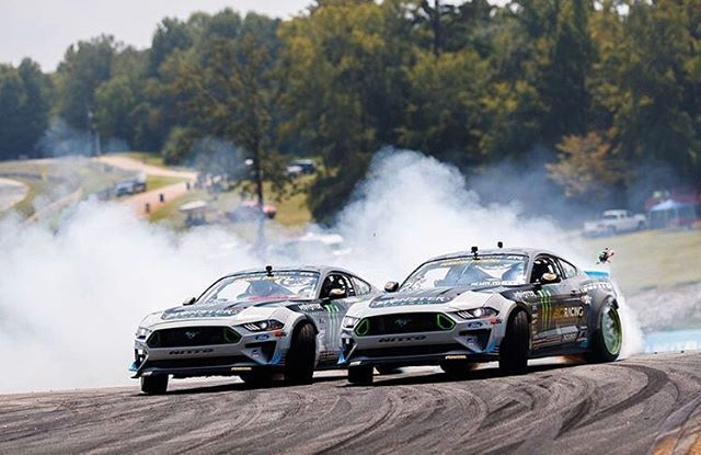 #Repost @vaughngittinjr ・・・ Seeing double this Saturday?! I had a blast running doors with my good friend and @monsterenergy teammate @danyneville. Dany is a sick DJ from the UAE and he came out and played a set at @gridlifeofficial! He also competes in the UAE and Europe with his crew @lunaticsbynature so you know it was only right to let him rip one of my demo cars! So wild to see them both on the same track together.