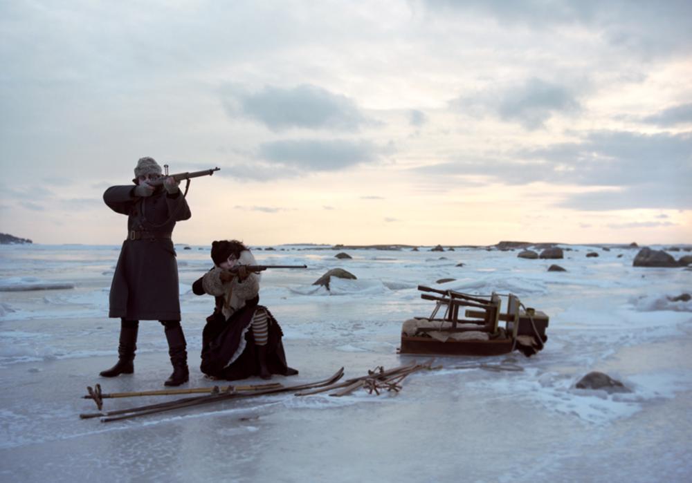 Arctic Hunt -  jaakarhuyht - Atelieri O.Haapala